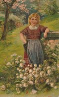 Drawing Of Young Girl - Children