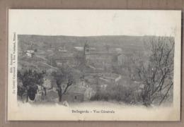 CPA 30 - BELLEGARDE - Vue Générale - TB PLAN D'ensemble Du Village Et Du Centre - Edit. Bruguier Crédit Universel - Bellegarde