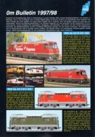 Catalogue ABG Technology AG 0m Bulletin 1997/98 RhB FO Maßstab 0m 1:45 - German