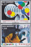 San Marino 2137-2138 (complete Issue) Unmounted Mint / Never Hinged 2004 Carnival Venice - San Marino