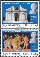 San Marino 1932-1933 (complete Issue) Unmounted Mint / Never Hinged 2001 Malatesta-celebrating - San Marino