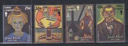 V937. Turks & Caicos - MNH - Art - Paintings - Joan Miro - 1 - Altri
