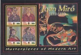 V937. Turks & Caicos - MNH - Art - Paintings - Joan Miro - Altri