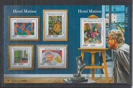 V298. Niger - MNH - 2015 - Art - Painting - Henri Matisse - Altri