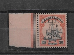 Sello De Camerún-CEF Nº Michel 6 * Valor Catálogo 22.00€ - Colonia: Camerún