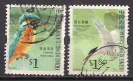 China - Hong Kong  Gest. / Used   (5fj18) Birds - 1997-... Région Administrative Chinoise