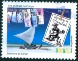 BRAZIL #3423   - CORDEL LITERATURE  - FOLCLORE - USED   2005 - Brazil