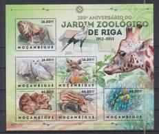 R937. Mozambique - MNH - 2012 - Nature - Animals - Zoo - Riga - Flora
