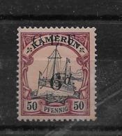 Sello De Camerún-CEF Nº Michel 8 * Valor Catálogo 22.00€ - Colonia: Camerún