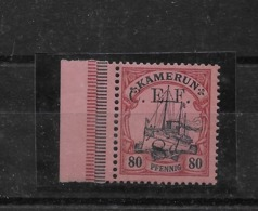 Sello De Camerún-CEF Nº Michel 9 * Valor Catálogo 22.00€ - Colonia: Camerún