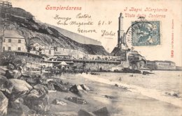 A-19-5475 : SAMPIERDARENA. J BAGNI MARGHERITA. VISTA DALLA LANTERNA. - Genova (Genoa)