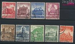 Deutsches Reich 751-759 (kompl.Ausg.) Gestempelt 1940 Bauwerke (9264959 - Gebraucht