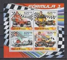 L298. Guine-Bissau - MNH - 2011 - Sport - Cars - Formula 1 - Pilots - Cars
