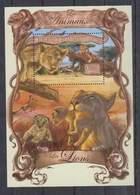 K693. Guinee - MNH - 2013 - Nature - Fauna - Wild Animals - Lions - Bl - Pflanzen Und Botanik