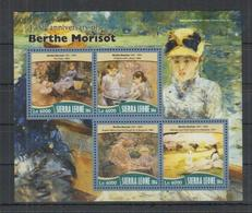 I694. Sierra Leone MNH - 2016 - Art - Painting - Berthe Morisot - Altri