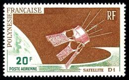 POLYNESIE 1966 - Yv. PA 19 ** SUP  Cote= 8,50 EUR - Satellite D1  ..Réf.POL24361 - Poste Aérienne