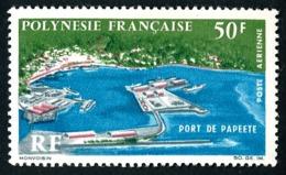 POLYNESIE 1966 - Yv. PA 20 *   Cote= 21,00 EUR - Port De Papeete  ..Réf.POL24362 - Poste Aérienne