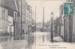 PUTEAUX Inondé : Rue Magenta - Crue De La Seine 1910 - Puteaux
