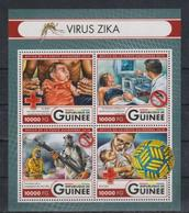 C938. Guinea - MNH - 2016 - Organizations - Red Cross - Medicine - Organizations