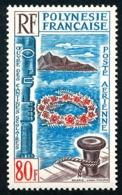 POLYNESIE 1965 - Yv. PA 15 * TB  Cote= 30,00 EUR - Oeuvre Des Cantines Scolaires  ..Réf.POL24358 - Poste Aérienne