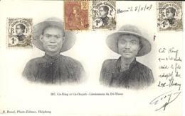 267- Cà-Ring Et Cà-Hyinh -  Lieutenants Du Dé-Tham  - Ed.  R. Bonal - Viêt-Nam