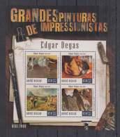 A298. Guine-Bissau - MNH - 2015 - Art - Paintngs - Edgar Degas - Altri
