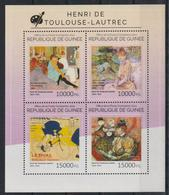 U694. Guinea - MNH - 2014 - Art - Paintings - Toulouse-Lautrec - Altri