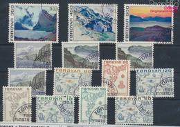 Dänemark - Färöer Gestempelt Freimarken 1975 Freimarken  (9349056 - Färöer Inseln