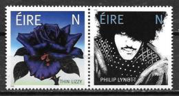 Irlande 2019 Paire Neuve Thin Lizzy Et Philip Lynott - 1949-... République D'Irlande