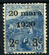Mónaco Nº 35. Año 1920 - Monaco