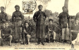 3333 - Cà-Rinh Et Ses Partisans Faisant Leur Soumission à Nui-Lang - Ed. P. Dieulefils - Viêt-Nam