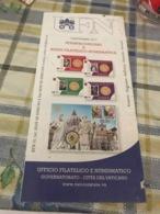 Pieghevole Ufficio Filatelico Vaticano - Non Classificati