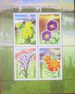 Uzbekistan  2018  2019  Flora Of Uzbekistan   Flowers  S/S   MNH - Uzbekistan