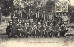 3339 - Yen-Thé - Un Troupe De Partisans Mans,appartenant Au Chef Pham Que Thang Du Yu  Nhai - Ed. P. Dieulefils - Viêt-Nam