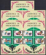 E695. 5x Grenada - MNH - Organizations - Showpex '79 - Imperf - Organizations