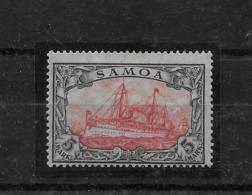 Sello De Samoa Nº Michel 23-IIB * Valos Catálogo 50.00€ - Colonia: Samoa
