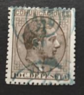 Edifil 192. Fechador De Villalba   ( Lugo). Tinta Azul. - Usados