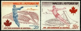 Wallis And Futuna 1976 Montreal Summer Olympics,Hammer Throw,Diving,Mi.277-8,MNH - Summer 1976: Montreal