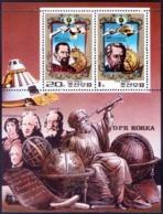 DPRK - ASTRONOMY  KEPLER  KOPERNIKUS  - Sattelit  MARS 5 - **MNH - 1980 - Astrology