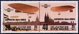 DPRK - LUPOSTA  KOLN ZEPPELIN - **MNH - 1983 - Zeppelins
