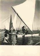 Tahiti - Départ D'une Course De Pirogue à Papeete - Voir Scans Recto-Verso - Tahiti