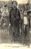 3334 -Yen-Thé - La 3ème Femme Du Dé-Tham Arrêtée à Aha-Nam ( Colonne Du Kham-Saï - Ed. P. Dieulefils - Viêt-Nam
