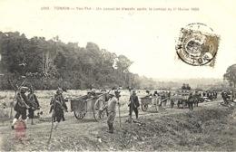 3343 -TONKIN-Yen-Thé - Un Convoi De Blessés Après Le Combat Du 11 Février 1909- Ed. P. Dieulefils - Viêt-Nam