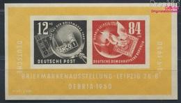 DDR Block7 (kompl.Ausg.) Postfrisch 1950 DEBRIA In Leipzig (8641427 - [6] Oost-Duitsland