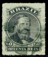 1876 Emperor Pedro II,Definitives,Brazil,Mi.33,VFU - Used Stamps