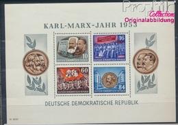 DDR Block9A Postfrisch 1953 Karl-Marx-Jahr (8532414 - [6] Oost-Duitsland