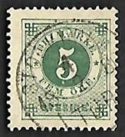 SUEDE  1877-85 - YT  18 A  Dent. 13 - Oblitéré - 3° Choix - Oblitérés