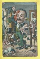 * Fantaisie - Fantasy (Bébés Multiples - Baby) * (T.E.L.S., Nr 931) Papa, Père, Dad, Enfants, Humoristique, Soldat, Pot - Bebes