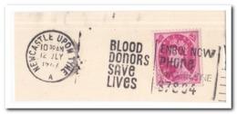 Engeland, Blood Donors Save Lives - Geneeskunde