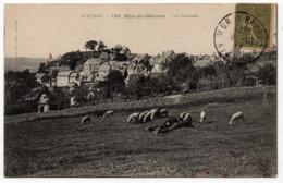 Mur De Barrez : Vue Générale (Editeur Germain Malroux, Aurillac, N°1236 - Imp. A. Thiriat, Toulouse) - Autres Communes